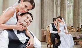 Максим и Карина - очень нежная и трогательная пара. Стиль -