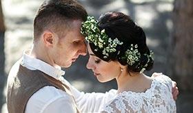 Анастасия и Даниил. Зимняя свадьба в преддверии весны.
